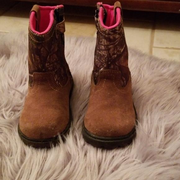 a5cc489f252fd Magellan Outdoors Shoes | Girls Magellan Camo Cowgirls Boots | Poshmark
